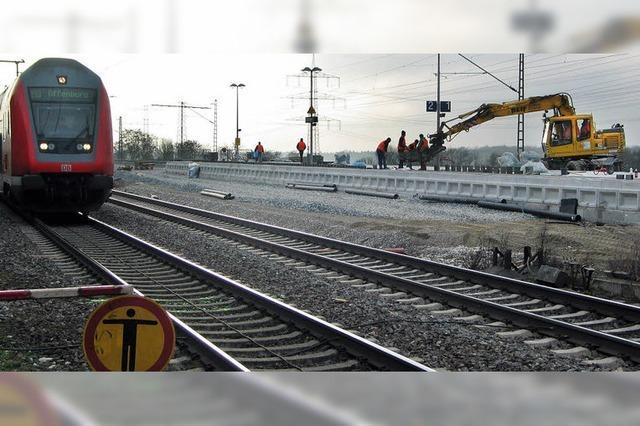 Anbindung bringt Störung im Zugverkehr