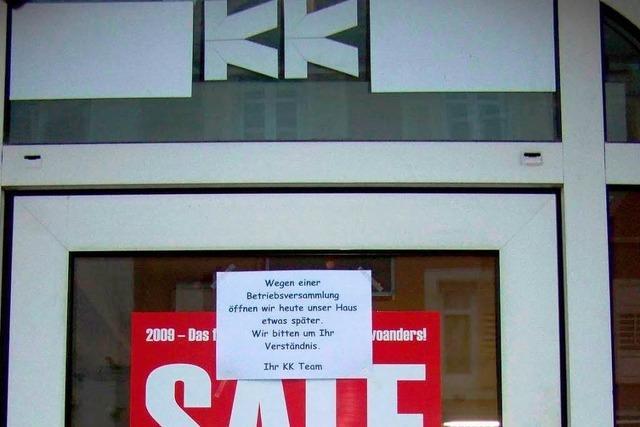 Kaufhaus Krauss schließt noch in diesem Jahr