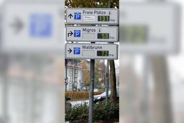 Parkhaus Brühlstraße ruht