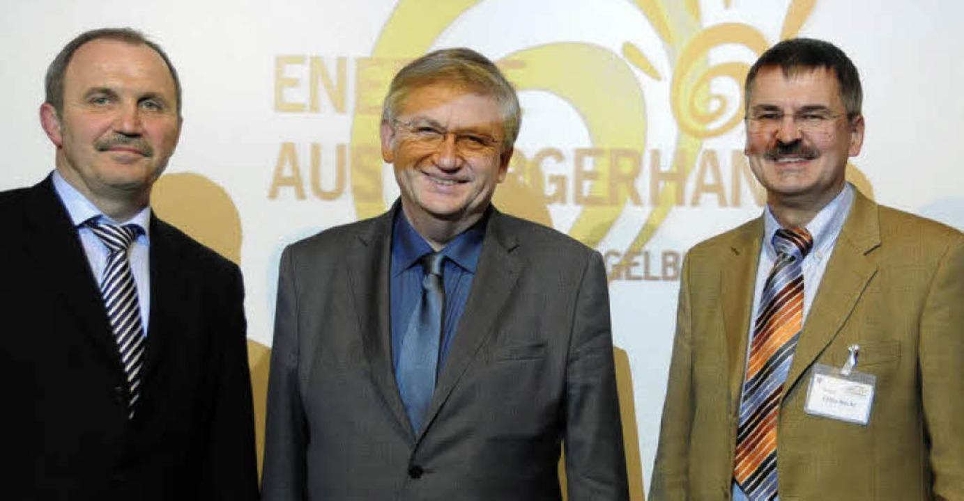 "Energie  für  Hägelberg:  Bürgermeiste...222;Energie aus Bürgerhand"".      | Foto: Robert Bergmann"