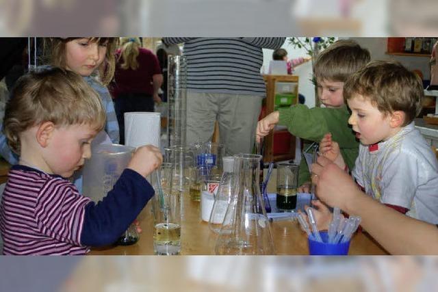 Jugend forscht – im Kindergarten