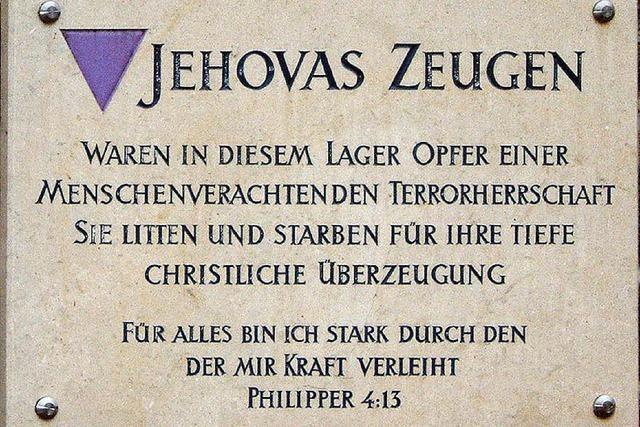 Zeugen Jehivas: Der Landtag erinnert in Freiburg an die NS-Opfer
