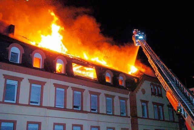 Gerichtsprozess: Die Brandursache ist völlig unklar