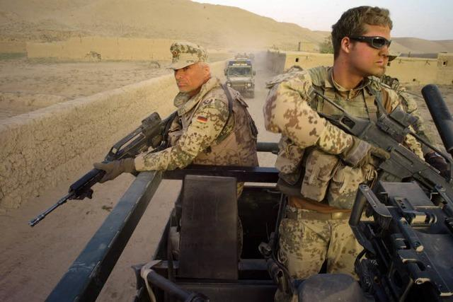 Afghanistan: Mehr Soldaten, aber Rückzug von diesem Jahr an