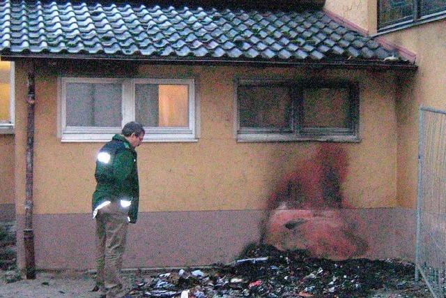 Feuer am Hofweirer Rathaus