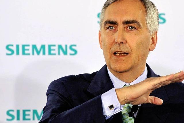 Siemens will trotz hoher Gewinne sparen
