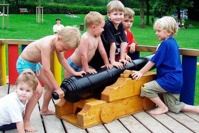 Piraten-Spielplatz im Baugebiet Dautenstein in Seelbach