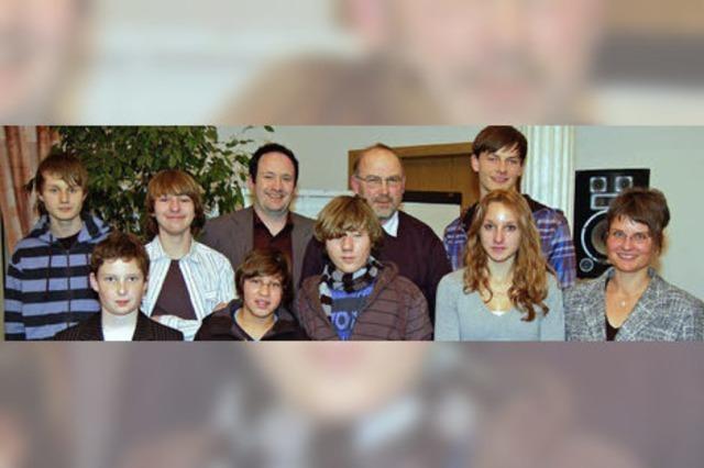 Turnverein ehrt seine Jugendlichen