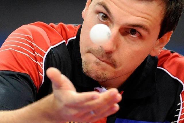 Timo Boll – Trainieren mit Deutschlands bestem Tischtennisspieler
