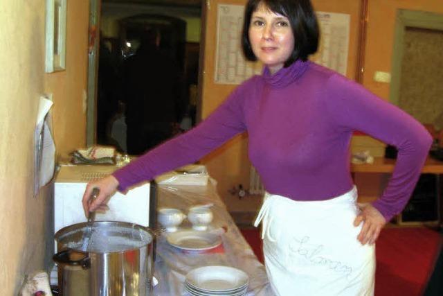 Suppe der Bürgermeisterin heiß begehrt