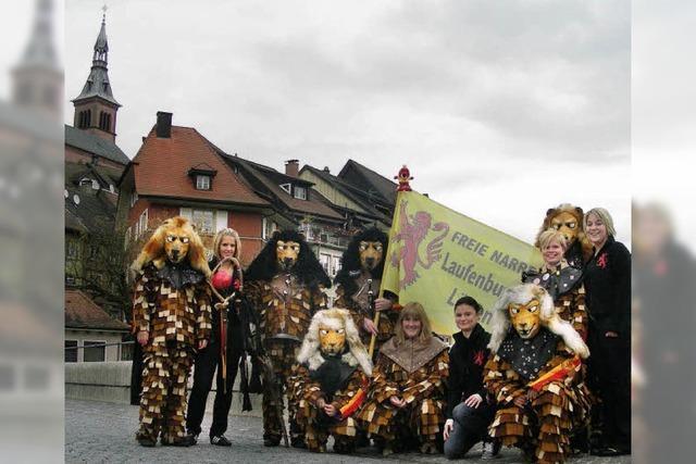 In Laufenburg sind die Löwen los