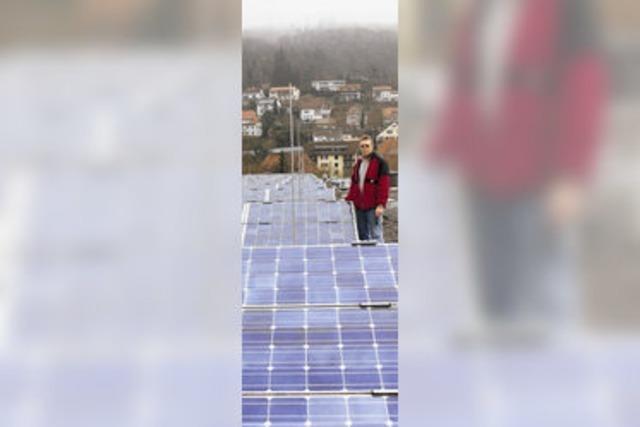 Kreis zögert bei Solarstrom