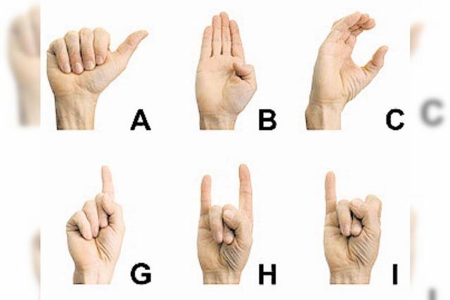 Erklär's mir: Wie funktioniert die Gebärdensprache?