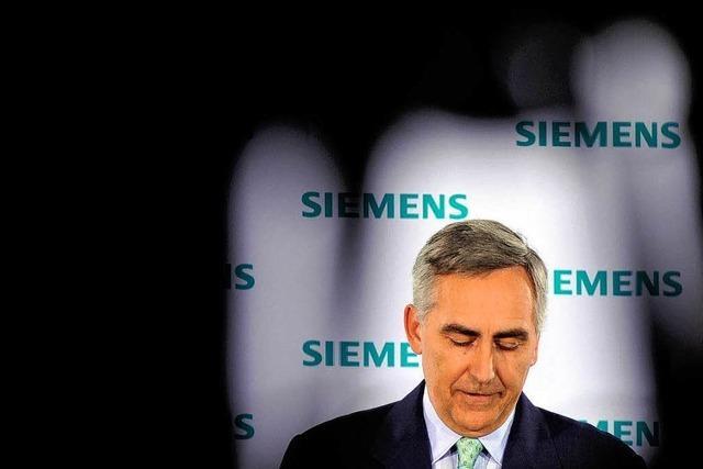 Siemens steht vor Kahlschlag