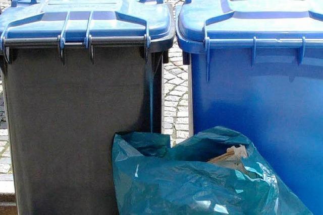 Müllgebühren bleiben stabil