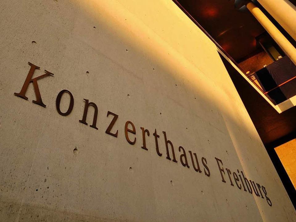 Im Konzerthaus Freiburg findet das zen...aden-württembergischen Landtags statt.  | Foto: Ingo