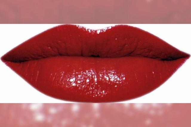 Gretchenzopf und rote Lippen