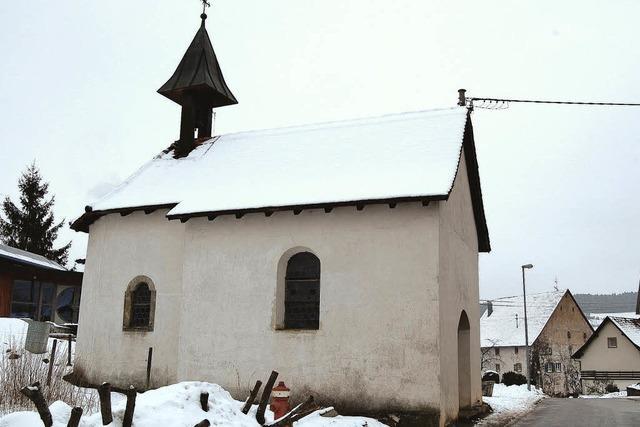 Kapelle Hofwies ist sanierungsbedürftig