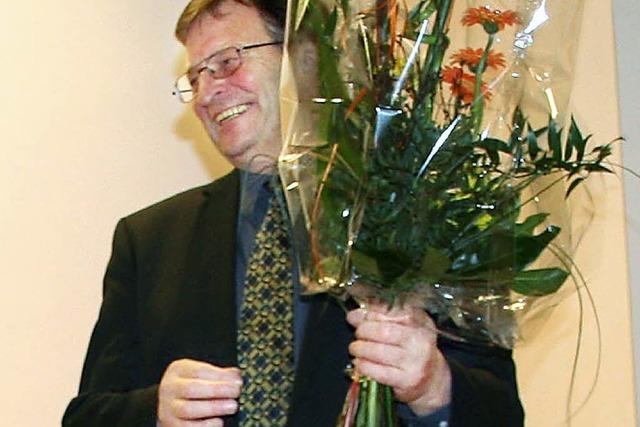 Dieter Zeh wird ehrenamtlicher Kantor