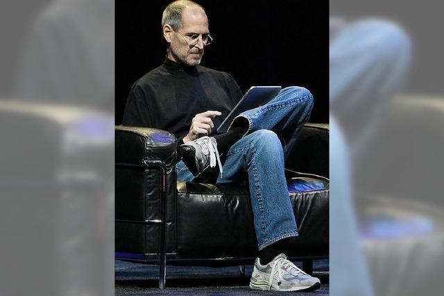 Apple serviert das iPad