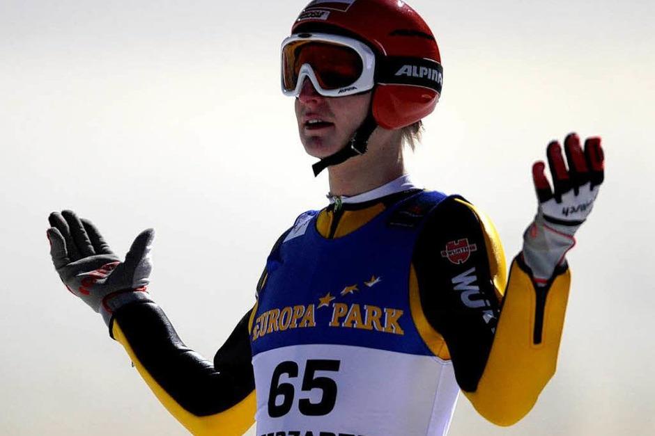 Pascal Bodmer, deutsche Medaillenhoffnung, landete auf Platz 20.