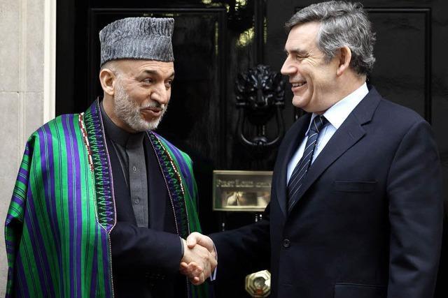 Dollarsammeln für Kabul
