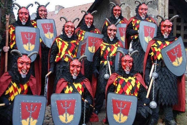 Die Teufelsburg-Ritter kommen