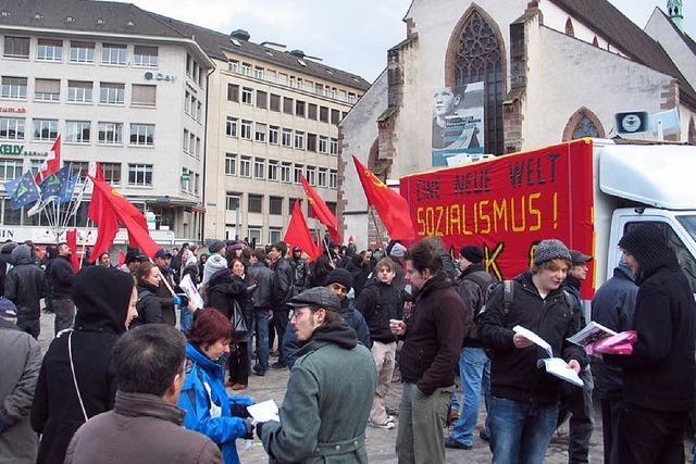 WEF-Protest bleibt weitgehend friedlich