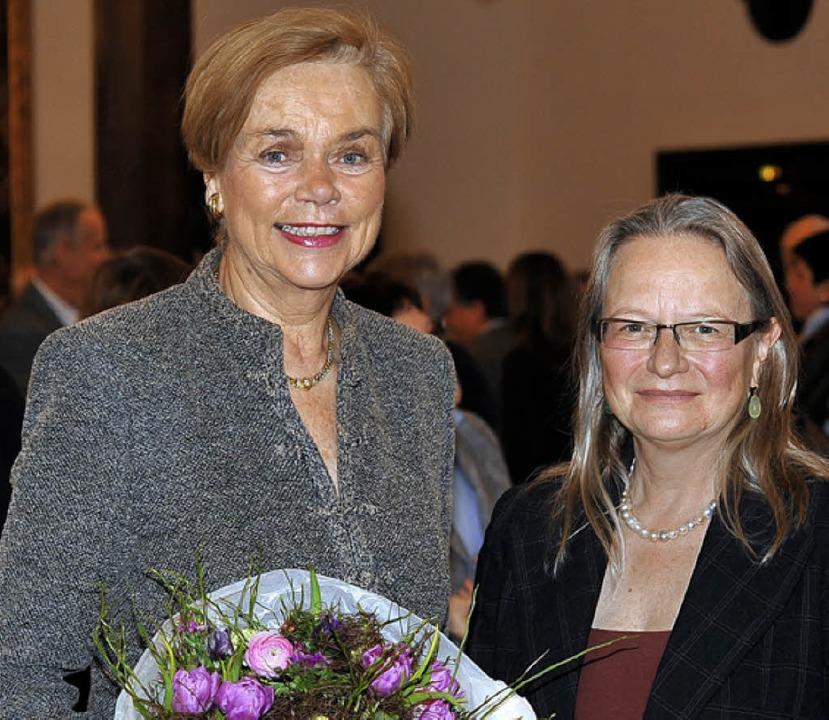 Barbara Scheel (l.), Ursula Knöpfle    Foto: Thomas Kunz