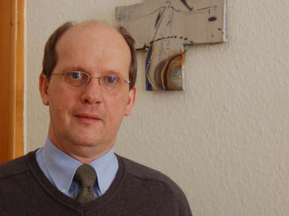 Direktor  Pater Johannes Siebner  | Foto: Kathrin Blum