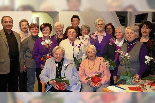 Frauenbund ist eine aktive Gemeinschaft