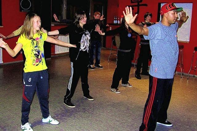 Spaß beim Breakdance