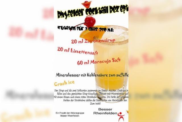 Rheinfelder Cocktail geht prima ohne