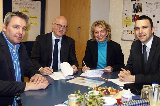 SCHULLEBEN: Schule kooperiert mit Druckhaus