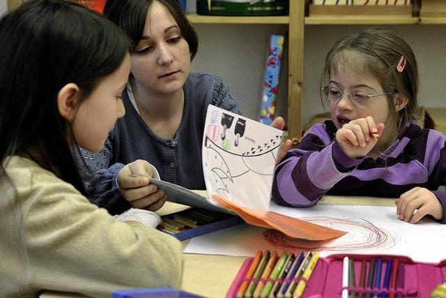 Integration behinderter Kinder - eine Schule für alle