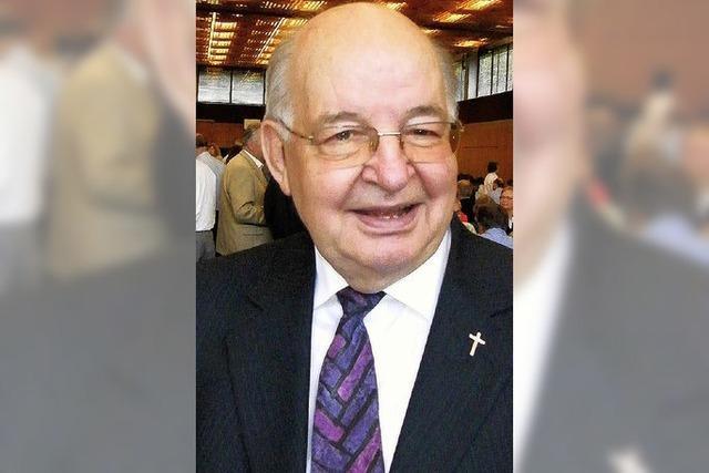 Pfarrer Eugen Fleig feiert heute seinen 80. Geburtstag