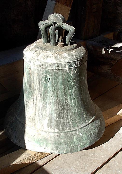 Zwei Glocken hat St. Cyriak bereits, eine dritte steht auf der Wunschliste.   | Foto: Andrea Drescher