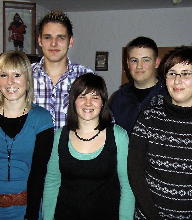 Der neue Vorstand:  Schriftführerin Sa...eber, Kassiererin Katharina Schmieder   | Foto: hhr