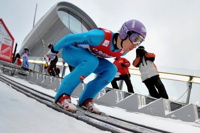 Skispringer Martin Schmitt kehrt in den Weltcup zurück