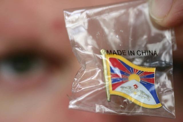 Vereiste Fronten in Tibet