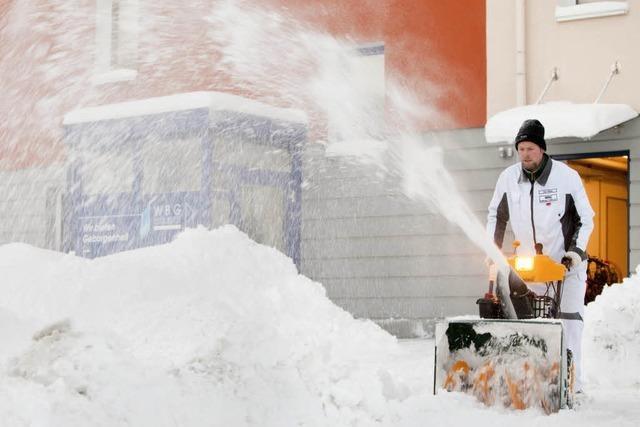 Bisher kein Schnee-Unfall in der Ortenau