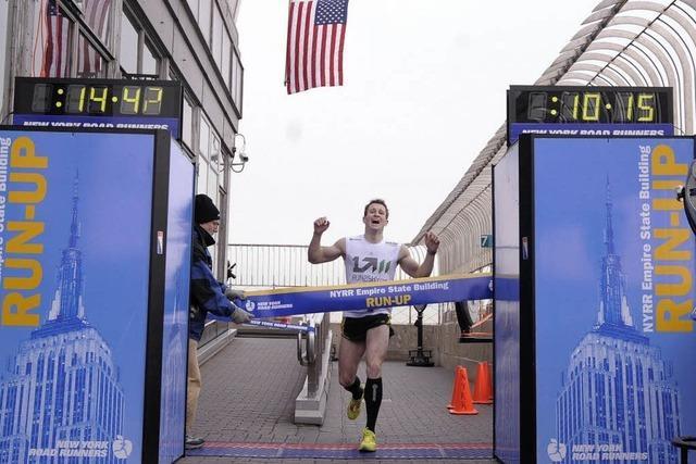 Dold gewinnt erneut Treppenlauf auf das Empire State Building