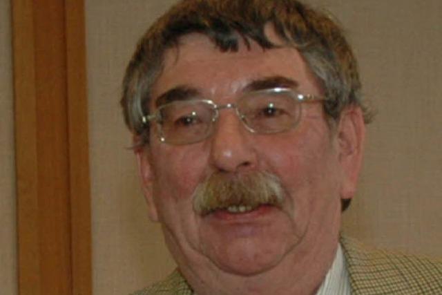 Gerhard Botzenhardt ist seit 20 Jahren Naturschutzbeauftragter in der Ortenau