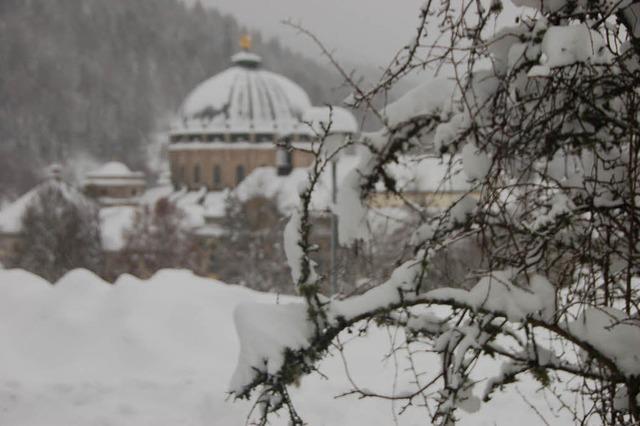 Schwarzwald versinkt im Schnee