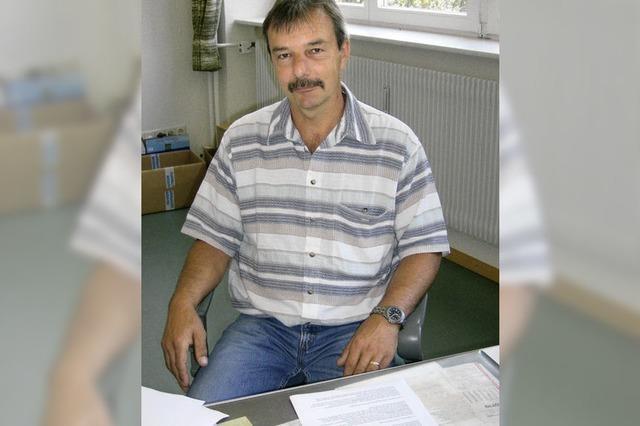 Gerd Schweinlin kandidiert