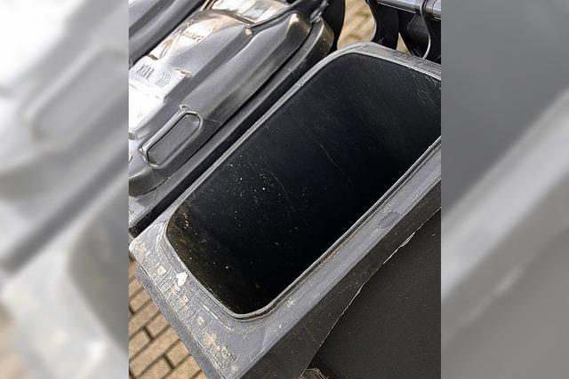 Witterung macht Müllabfuhr zu schaffen