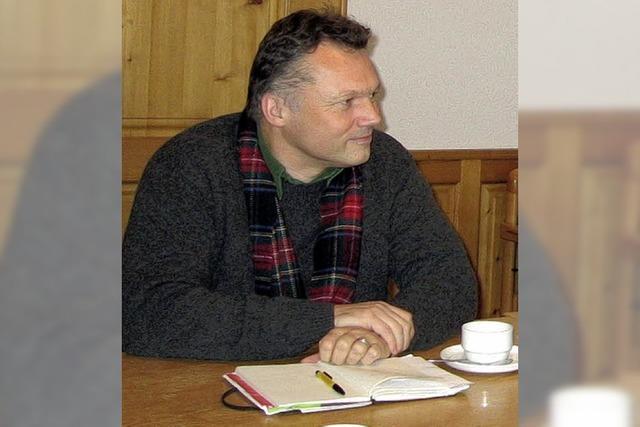 Walter Krögner stellte sich in Häusern vor