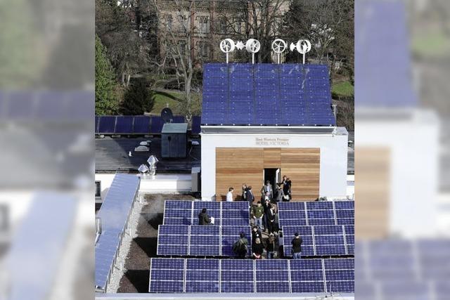Klimafreundliche Zimmer und ein Energiedachgarten
