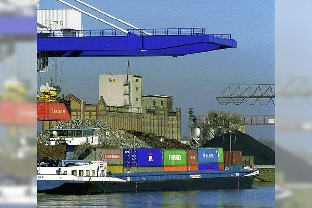 Stahlwerk hält den Kehler Rheinhafen in Schwung
