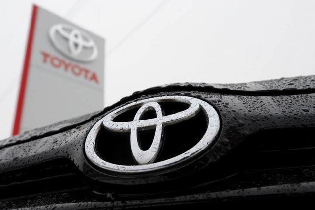 Rückrufaktion: Toyota-Post aus Flensburg